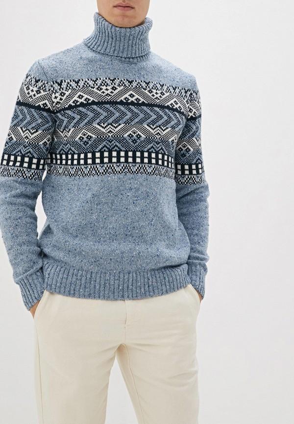 Фото - Мужской свитер Baon голубого цвета
