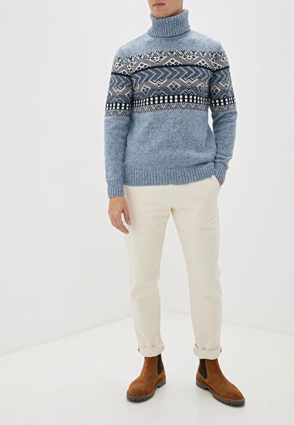 Фото 2 - Мужской свитер Baon голубого цвета