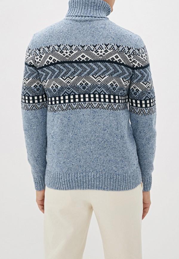 Фото 3 - Мужской свитер Baon голубого цвета