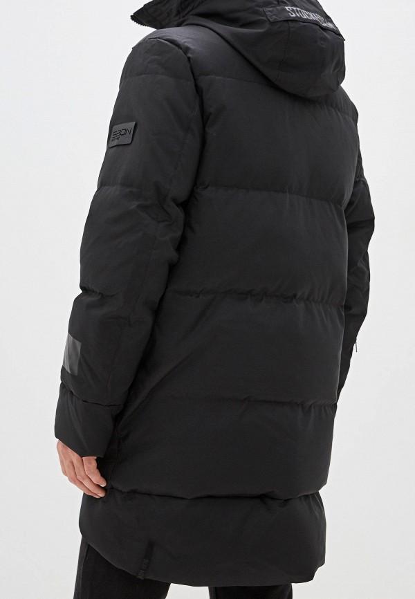 Фото 3 - мужской пуховик Baon черного цвета