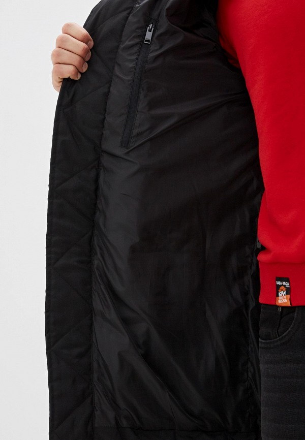Фото 4 - мужской пуховик Baon черного цвета