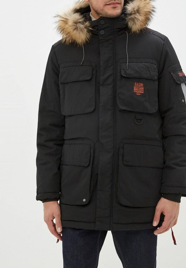 Фото - Куртку утепленная Baon черного цвета