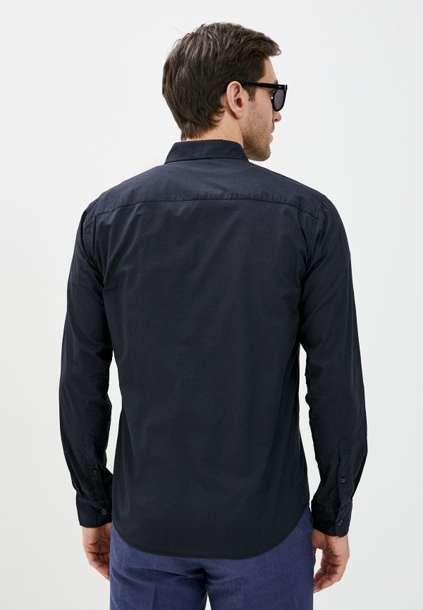 Фото 3 - Мужскую рубашку Baon черного цвета
