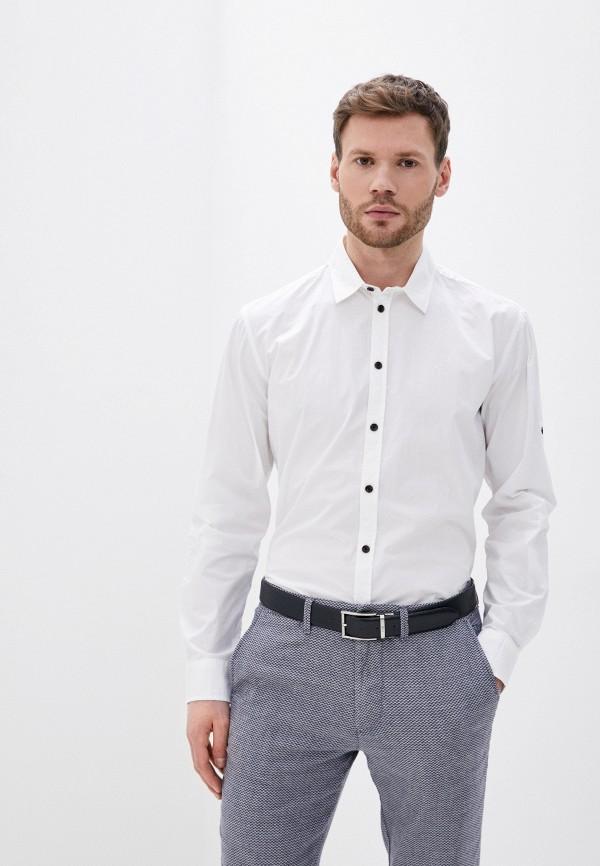Фото - Мужскую рубашку Baon белого цвета