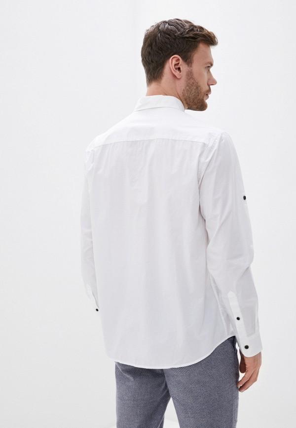 Фото 3 - Мужскую рубашку Baon белого цвета