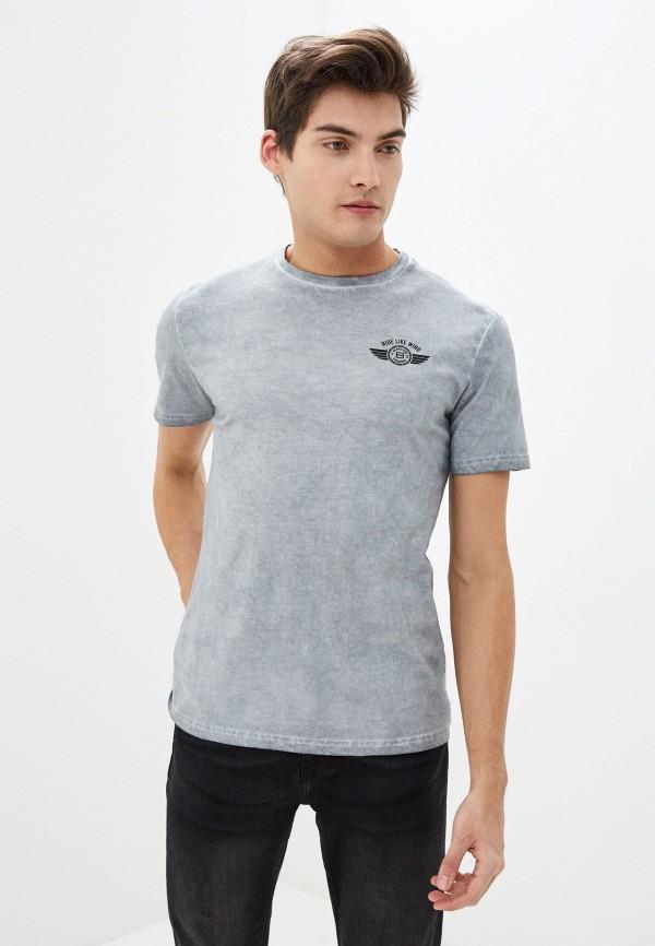 Фото - Мужскую футболку Baon серого цвета