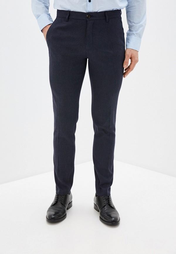 Фото - Мужские брюки Baon синего цвета