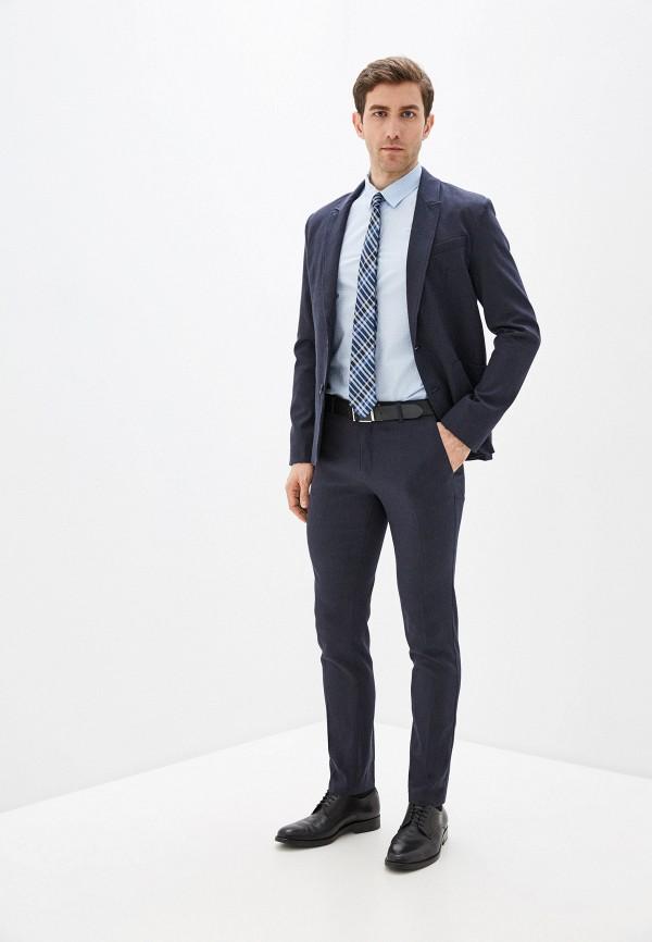 Фото 2 - Мужские брюки Baon синего цвета
