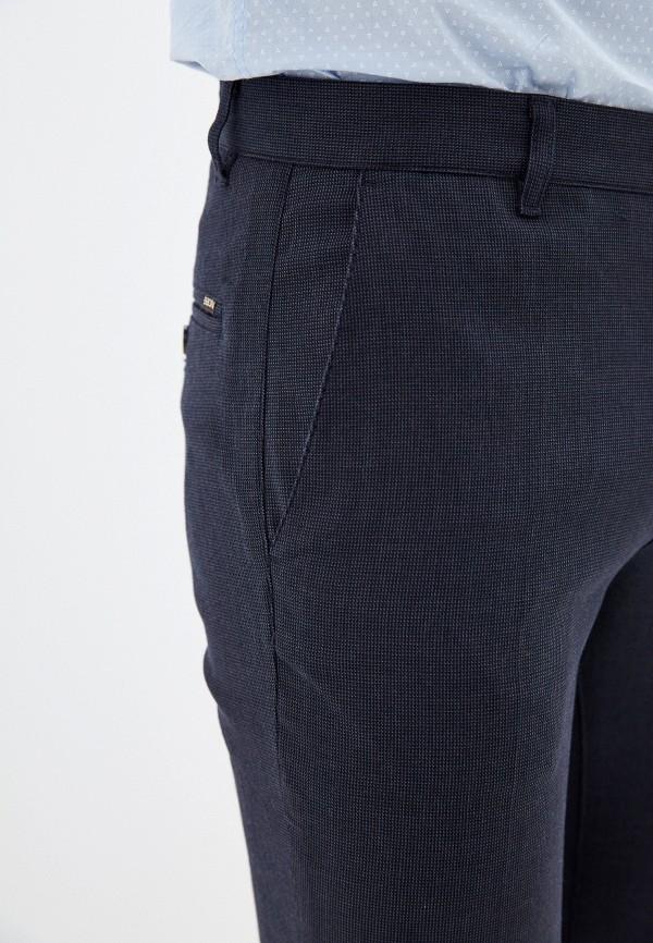 Фото 4 - Мужские брюки Baon синего цвета