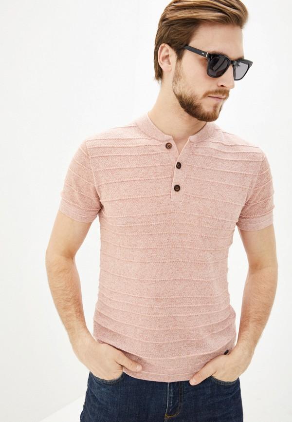 Фото - Мужскую футболку Baon розового цвета