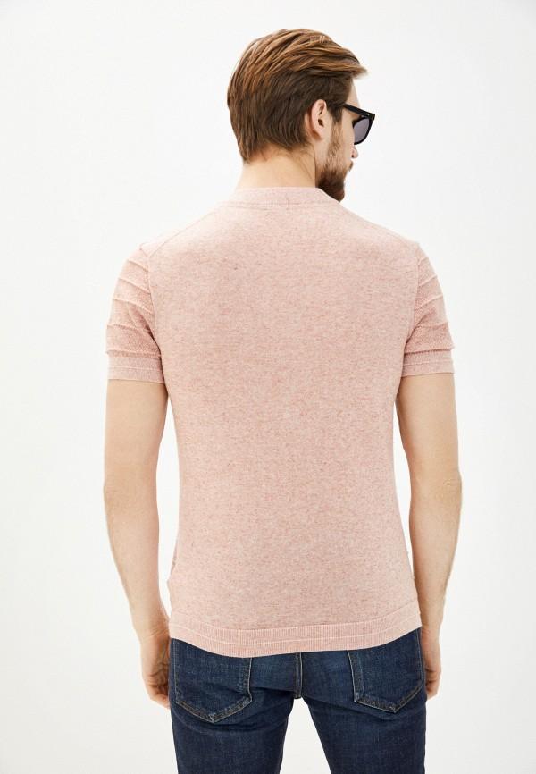 Фото 3 - Мужскую футболку Baon розового цвета