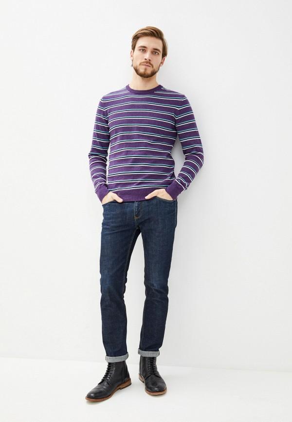 Фото 2 - Мужское джемпер Baon фиолетового цвета