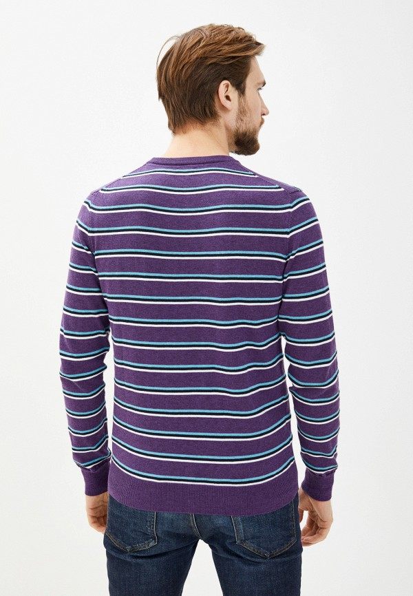 Фото 3 - Мужское джемпер Baon фиолетового цвета