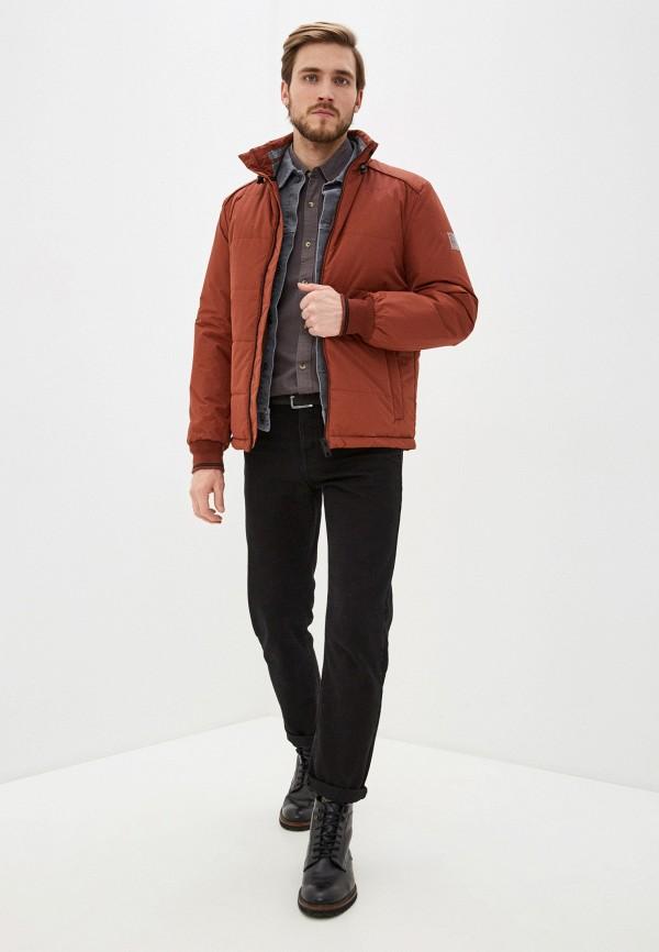 Фото 2 - Куртку утепленная Baon коричневого цвета