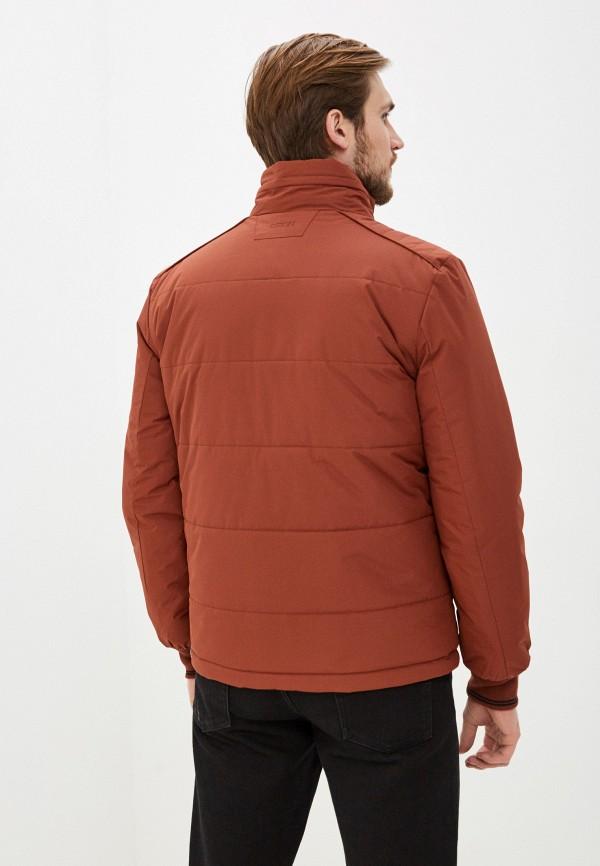 Фото 3 - Куртку утепленная Baon коричневого цвета