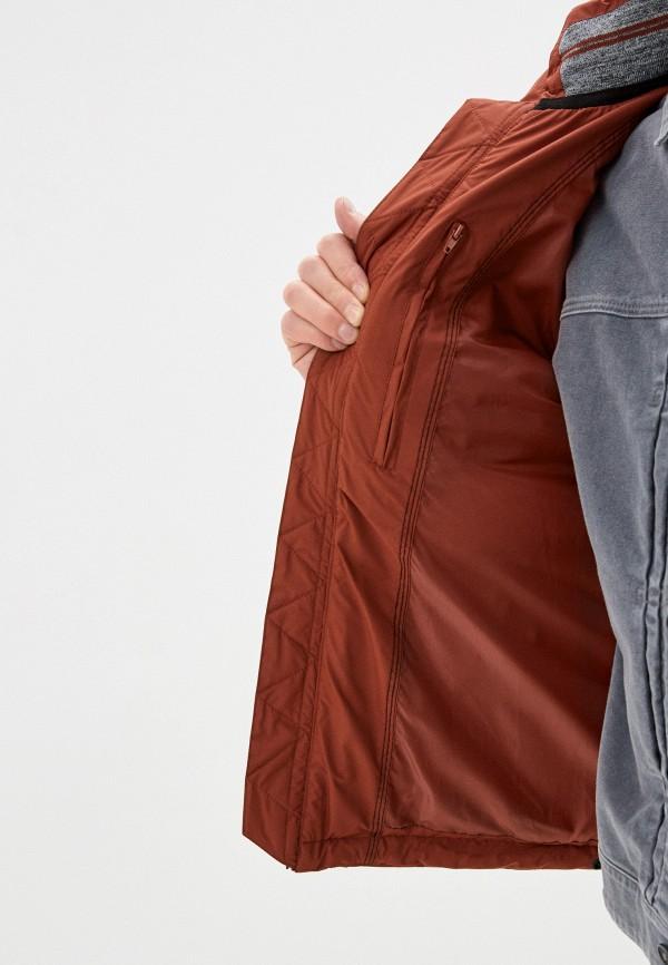 Фото 4 - Куртку утепленная Baon коричневого цвета