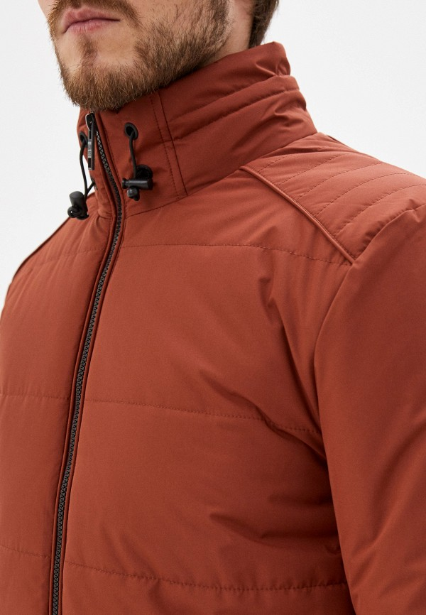 Фото 5 - Куртку утепленная Baon коричневого цвета