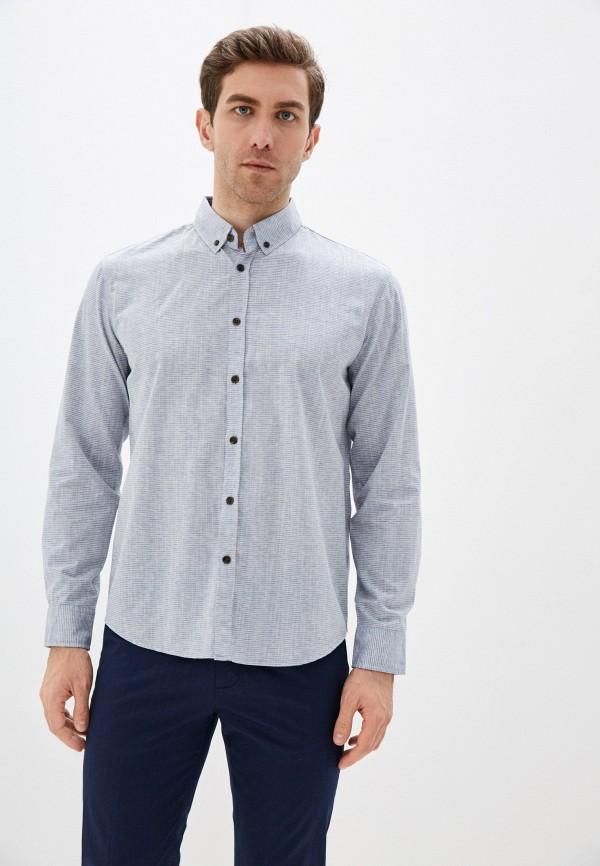 Фото - Мужскую рубашку Baon серого цвета