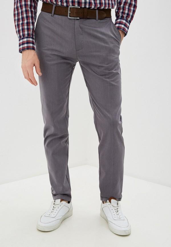 Фото - Мужские брюки Baon серого цвета