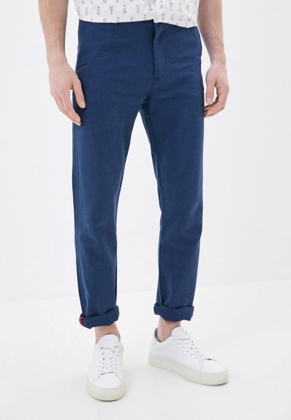мужские брюки чинос baon, синие