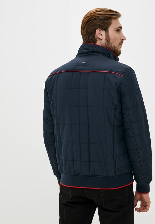 Фото 3 - Куртку утепленная Baon синего цвета