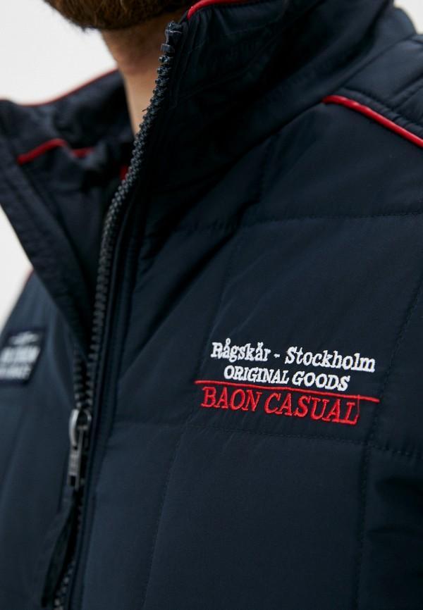 Фото 4 - Куртку утепленная Baon синего цвета