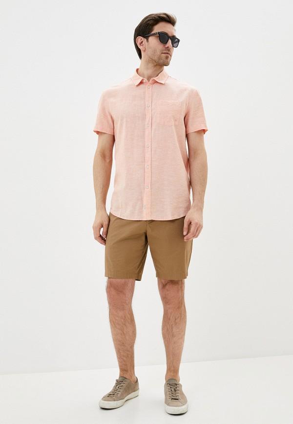 Фото 2 - Мужскую рубашку Baon кораллового цвета