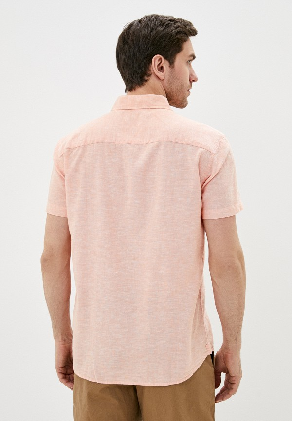 Фото 3 - Мужскую рубашку Baon кораллового цвета