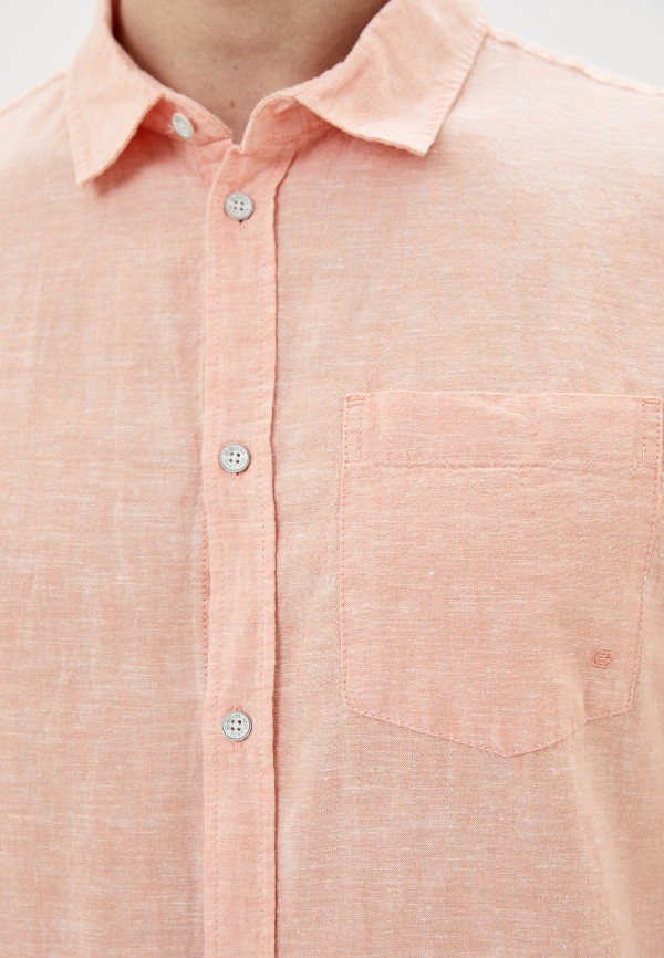 Фото 4 - Мужскую рубашку Baon кораллового цвета
