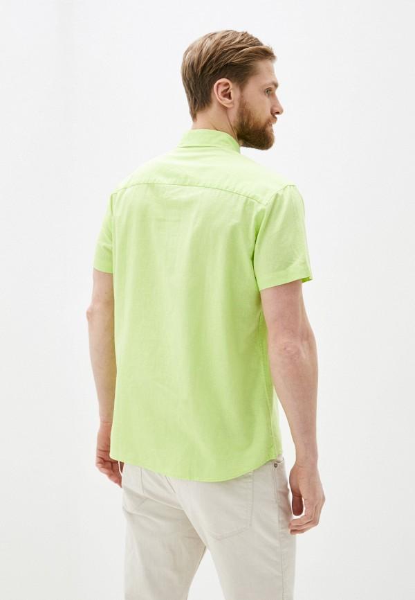 Фото 3 - Мужскую рубашку Baon зеленого цвета