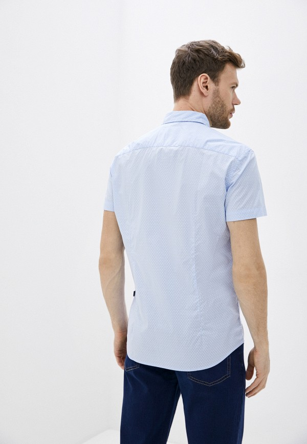 Фото 3 - Мужскую рубашку Baon голубого цвета