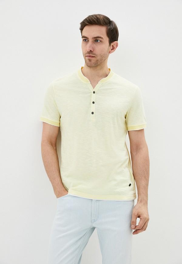 Фото - Мужскую футболку Baon желтого цвета