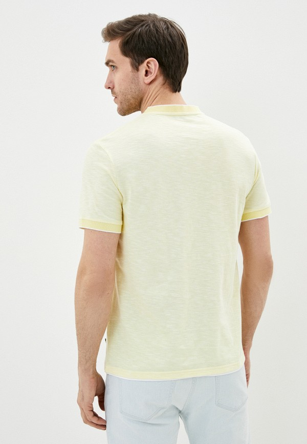 Фото 3 - Мужскую футболку Baon желтого цвета