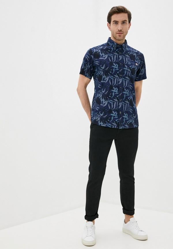 Фото 2 - Мужскую рубашку Baon синего цвета