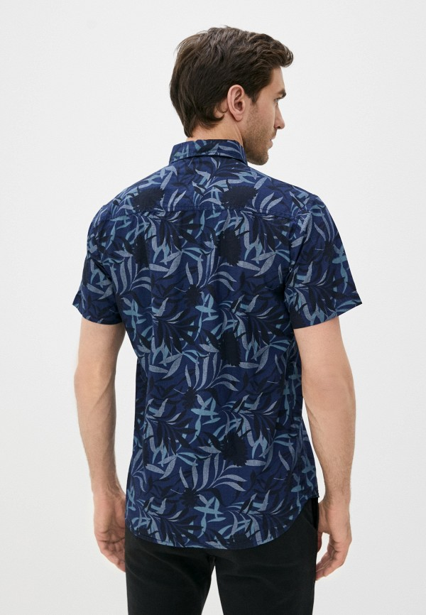 Фото 3 - Мужскую рубашку Baon синего цвета