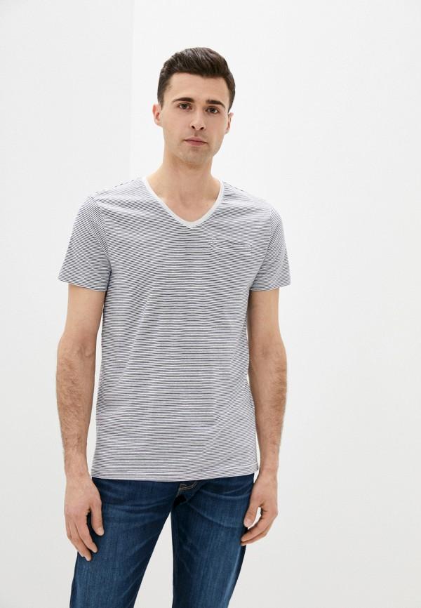 мужская футболка с коротким рукавом baon, серая