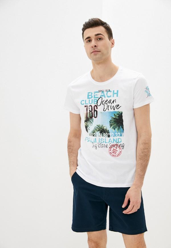 мужская спортивные футболка baon, белая