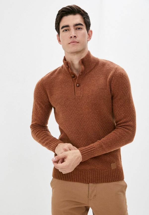 мужской джемпер baon, коричневый