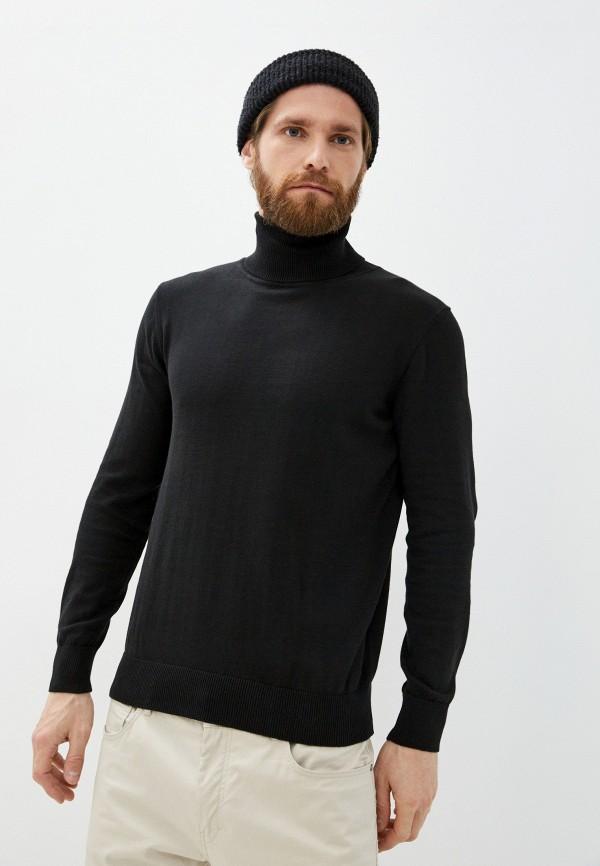 мужская водолазка baon, черная