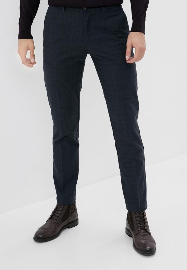 мужские зауженные брюки baon, серые