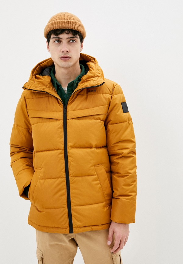 мужская утепленные куртка baon, желтая