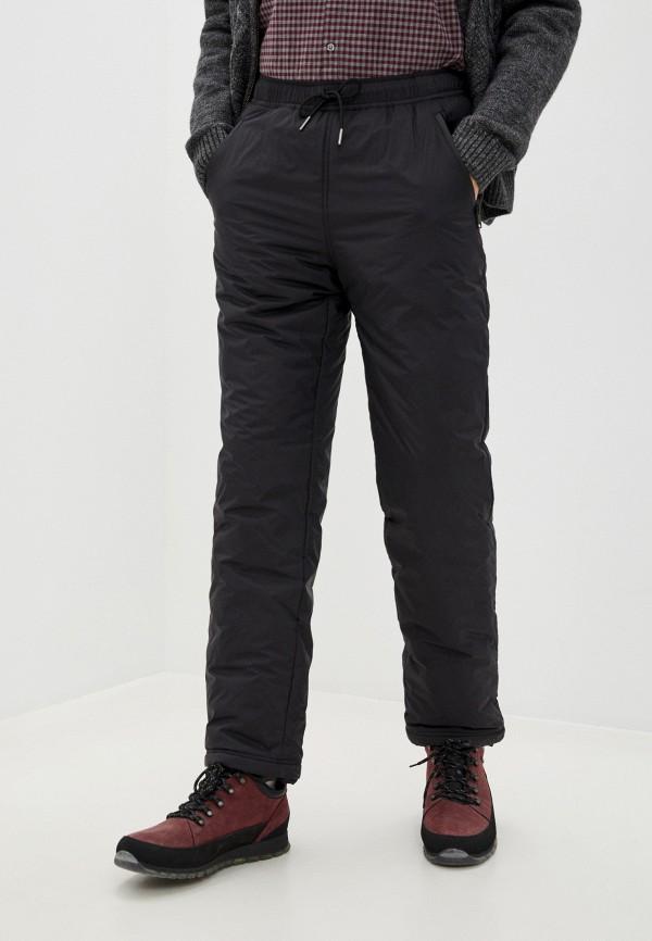 мужские утепленные брюки baon, черные