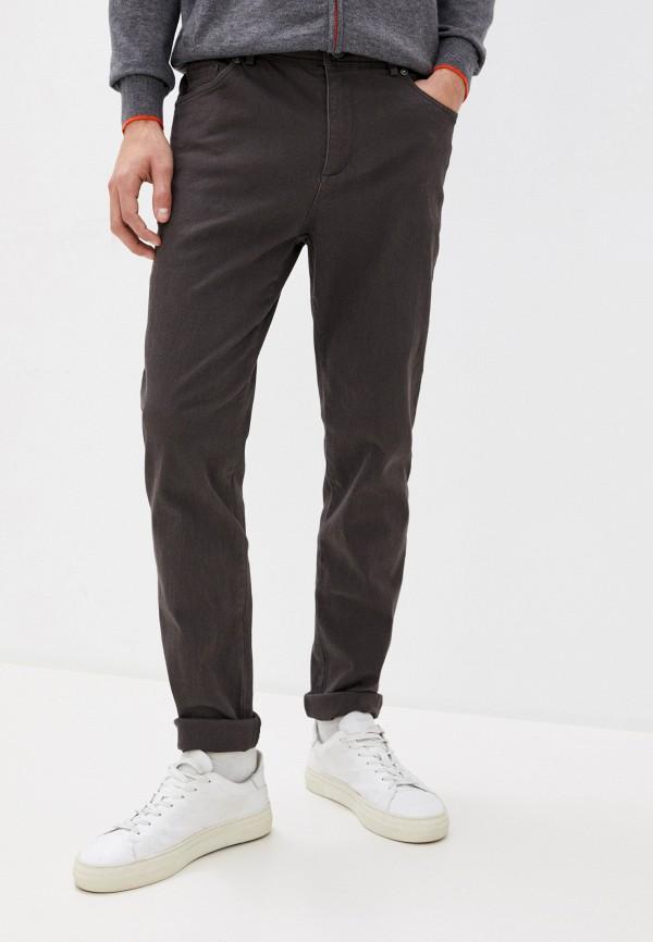 мужские зауженные джинсы baon, коричневые