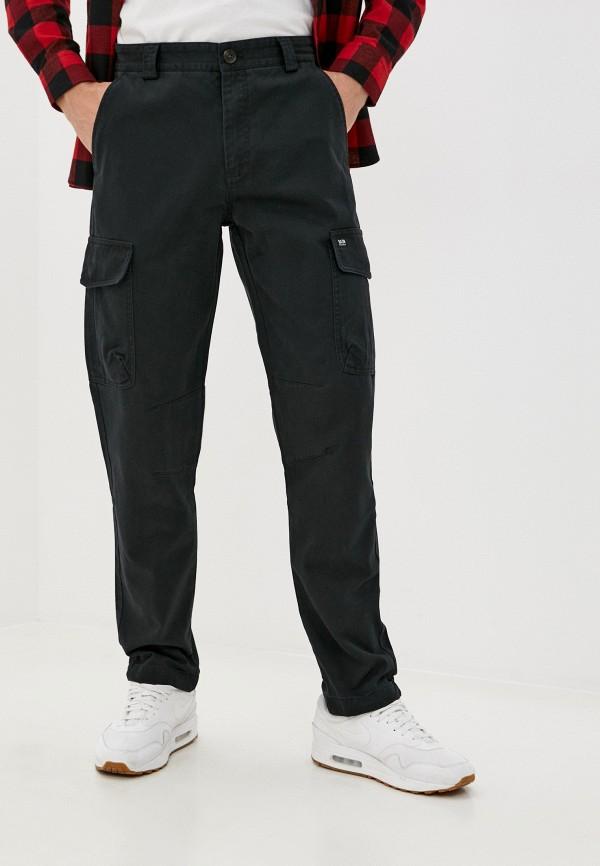 мужские брюки карго baon, черные