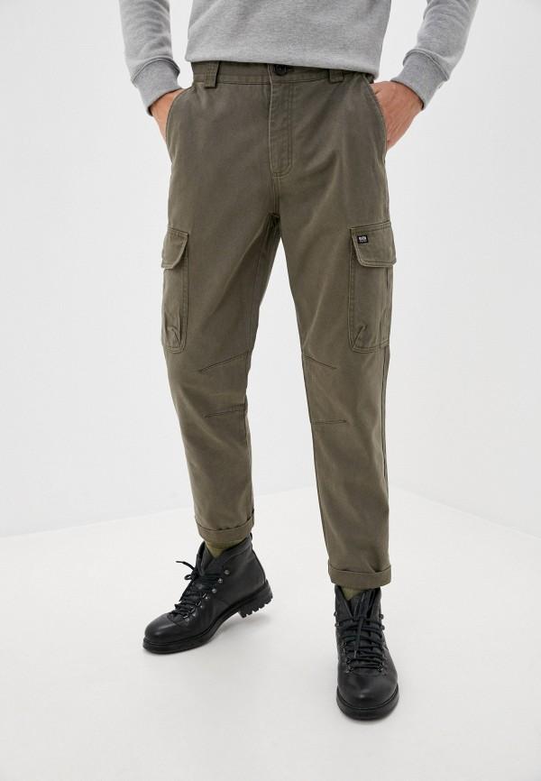 мужские брюки карго baon, хаки