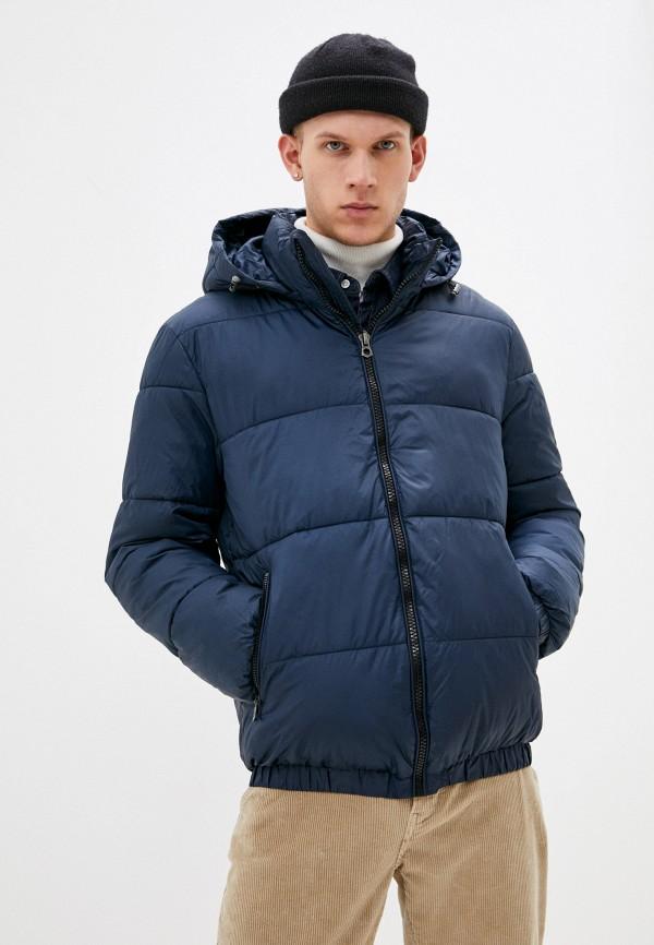 мужская куртка baon, синяя