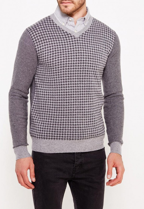 мужской пуловер baon, серый