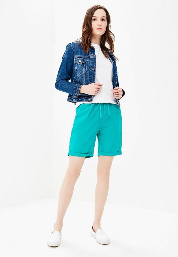 Фото 2 - женские шорты Baon бирюзового цвета