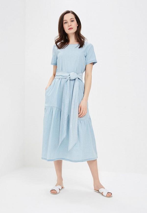 Купить Платье джинсовое Baon, Baon BA007EWAYMB2, голубой, Весна-лето 2018