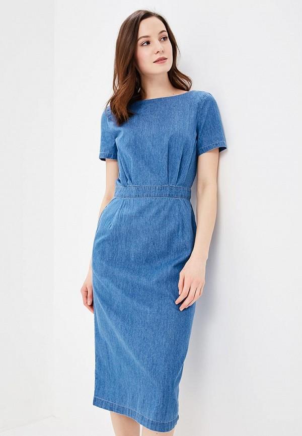 Фото - Платье джинсовое Baon голубого цвета